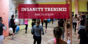 Insanity treninzi listopad 2016